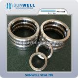 Junta octagonal de alta presión de la junta del anillo del acero inoxidable del API