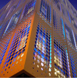 Perforated di collegamento Aluminum Panels per Aluminum Curtain Wall System