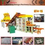 Machine de fabrication de brique complètement automatique de ciment hydraulique (QT4-15A)
