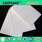 El panel mineral acústico del tablero del techo de la fibra