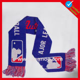 100% Acrylic Knitted Winter Warm Fan Football Soccer Scarf