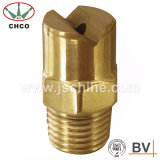 Bocal de pulverizador liso de bronze do ventilador com linha masculina