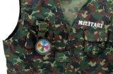7000953-militair de Kostuums van Cosplay Halloween van het Jonge geitje van het Kostuum van de Kracht voor Uitrusting van het Kostuum van het Leger van de Partij van Kinderen de Leuke Eenvormige