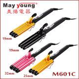 Bigodino di capelli elettrico di migliore di vendite di M601c disegno triplice del barilotto