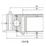 Exkavator-Rollen-/Kugel-Kombination Nongear Durchlauf-Ring-Peilung für Hitachi