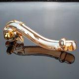 Brinquedo de cristal do sexo do vibrador para as mulheres Injo-Dg031
