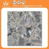 Серый мрамор Искусственный камень Плитка для пола Плитка (RB113)