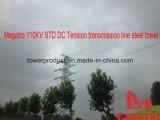 Megatro 110kv Geschlechtskrankheit Gleichstrom-Spannkraft-Übertragungs-Zeile Stahl-Aufsatz