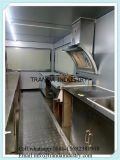 Boisson rapide Traveling Fast Double Axles Food Truck for Sale