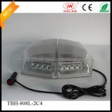 Van Warning Safety Beacon Lights в White СИД Clear Dome