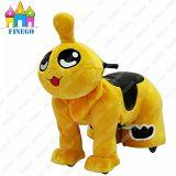 Qizai元気なグループ動物の屋内電池の娯楽乗馬のスクーターのおもちゃ