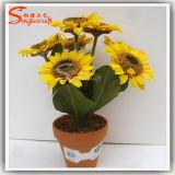 Fleur artificielle de soie artificielle d'usines de haute décoration à la maison d'imitation