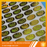 Autoadesivo anti-contraffazione dell'ologramma di obbligazione su ordinazione