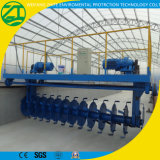 Estiércol vegetal Turner del fertilizante para el depósito de fermentación