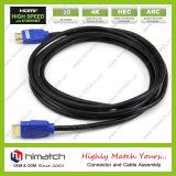 Macho de HDMI ao micro cabo masculino