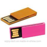 Mecanismo impulsor del flash del USB de la insignia de encargo de la capacidad plena mini
