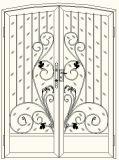 Красивейшие орнаментальные стробы утюга в сжатом типе конструкции
