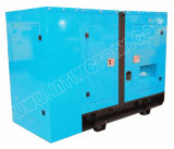Ce/CIQ/Soncap/ISOの承認のパーキンズエンジン1104c-44tg1を搭載する62.5kVA極度の無声ディーゼル発電機