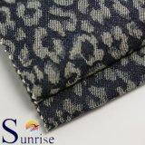 Ткань джинсовой ткани жаккарда Spandex хлопка (SRSCSP 1846)