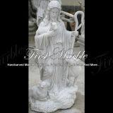 Het Marmeren Standbeeld van Carrara van Metrix voor Decoratie Mej.-1000 van de Tuin