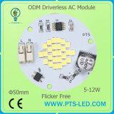 câmara de ar 86-265V/AC 110V do diodo emissor de luz de 10W 20W T8/módulo SKD do diodo emissor de luz C.A. SMD de 220V Driverless