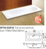 1800mm einfache Bad-Wannen europäisch Absinken-in der Badewanne
