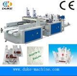 Highquality&Best Price und Hot Cutting Bottom Sealing Plastic Einkaufstasche Making Machine (DFHQ-350X2)
