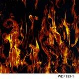 Kingtop 1m Schedels van de Breedte en Vloeibaar Beeld wdf23-1 van de Druk van de Overdracht van het Water van het Ontwerp van de Vlam