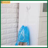Puxar o saco não tecido da sapata do Drawstring do malote da poeira da corda (TP-SB021)