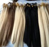 Выдвижение человеческих волос Remy волос кольца бразильской петли микро-