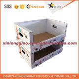 출하를 위한 관례에 의하여 인쇄되는 물결 모양 우송자 상자