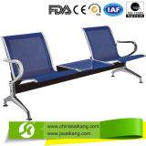 Duurzaam Roestvrij staal 3 het Wachten Seater Stoel (CE/FDA/ISO)
