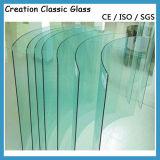 パネルの/Showerガラスガラスのための3-19mm曲げられた強くされたガラス