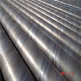 Api 5L SSAW Spiral Carbon Welded Steel Pipe pour Oil Gas