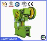 Tipo imprensa de Mechancial da série de J21S de potência da garganta da profundidade, máquina de perfuração
