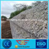 Cestas galvanizadas aço da parede da caixa de Gabion da estabilização da estrada