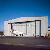 Pre проектированное здание стальной структуры полиняло для технического обслуживания самолета