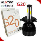 kit de la conversión de la linterna del coche 80W 8000lm LED de la luz larga de la MAZORCA LED de 6000k H7 para el coche