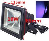 Luz de inundación ULTRAVIOLETA ultravioleta del poder más elevado 10W-50W LED de Houlight IP65-Waterproof (CA 85V-265V) para curar, Blacklight, pesca, acuario, resplandor en la obscuridad
