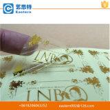 高品質の透過金ホイルの印刷のラベル