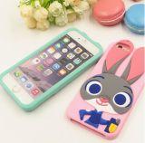 Appleの携帯電話のための美しいウサギのシリコーンの携帯電話の箱