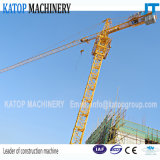 Guindaste de torre da Dobro-Rotação B do tipo Qtz63-5013 de Katop para a maquinaria de construção