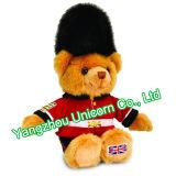 Brinquedo britânico macio do luxuoso do urso da peluche do soldado de Gaurdsman do animal enchido