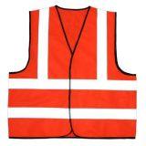 En20471 veste reflexiva de passeio da segurança da classe 2