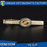 Clip di legame su ordinazione del metallo per il regalo degli uomini con il marchio su ordinazione di stampa