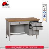 مكتب [إإكسكتيف] سكرتير كبير معدن مكتب طاولة مع 3 ساحب