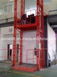 Piattaforma verticale idraulica dell'elevatore della guida pesante idraulica di caricamento