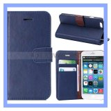 Farbe Flip Wallet Leather Cover Fall für iPhone 6/iPhone 6 Plus