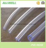 Boyau flexible de pipe de jardin de boyau de niveau d'eau de PVC de plastique