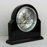 Reloj de vector negro magnífico del final del piano